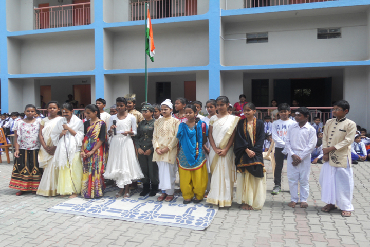 Cluny Convent School-Independence Day
