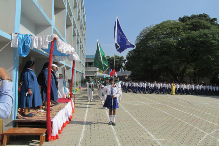 Cluny Convent School-March Past