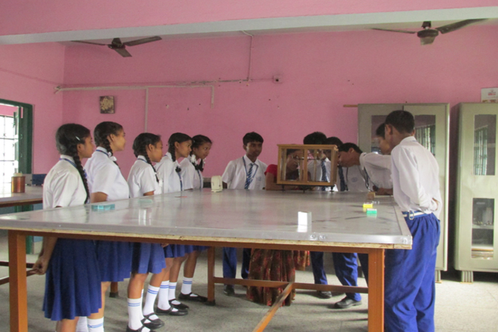Cluny Convent School-Physics Lab