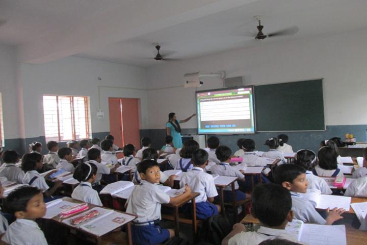 Cluny Convent School-Smart Classroom
