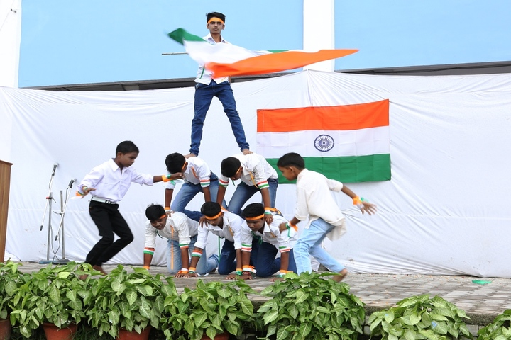 D S M School For Excellence-Independence Day