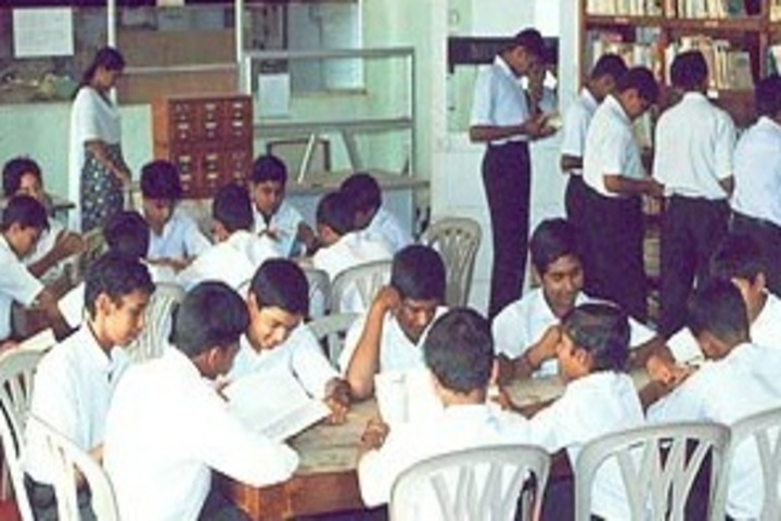 Infant Jesus Anglo - Indian Higher Secondary School-Library