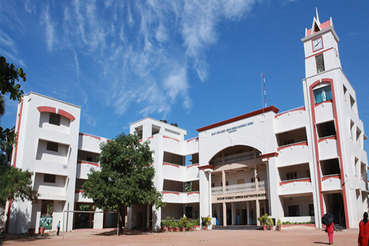 Infant Jesus Anglo - Indian Higher Secondary School-School Building