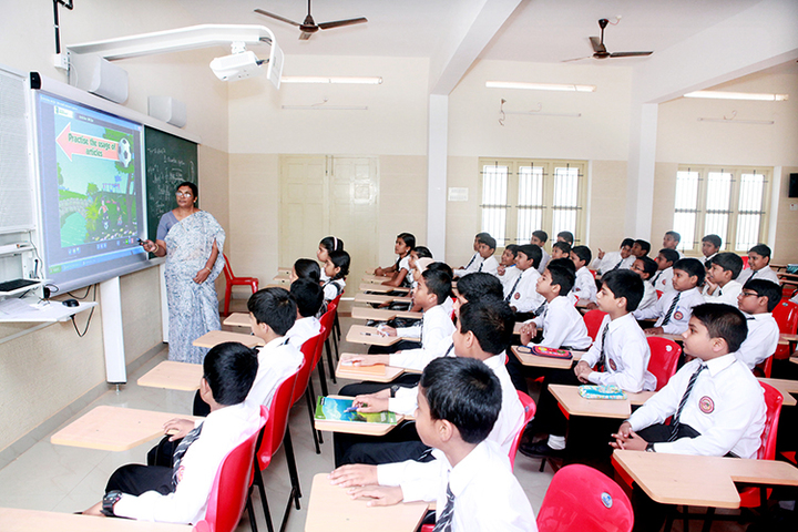 Infant Jesus Anglo - Indian Higher Secondary School-Smart Class