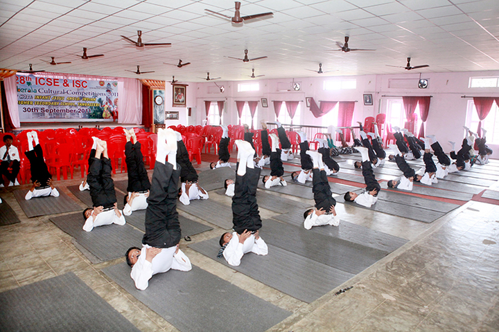 Infant Jesus Anglo - Indian Higher Secondary School-Yoga Activity