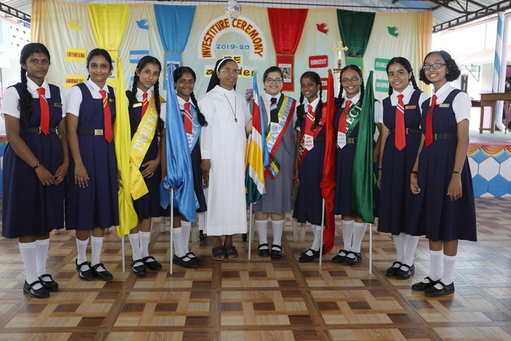 Mount Carmel Convent Anglo - Indian Girls High School-Investiture Ceremony