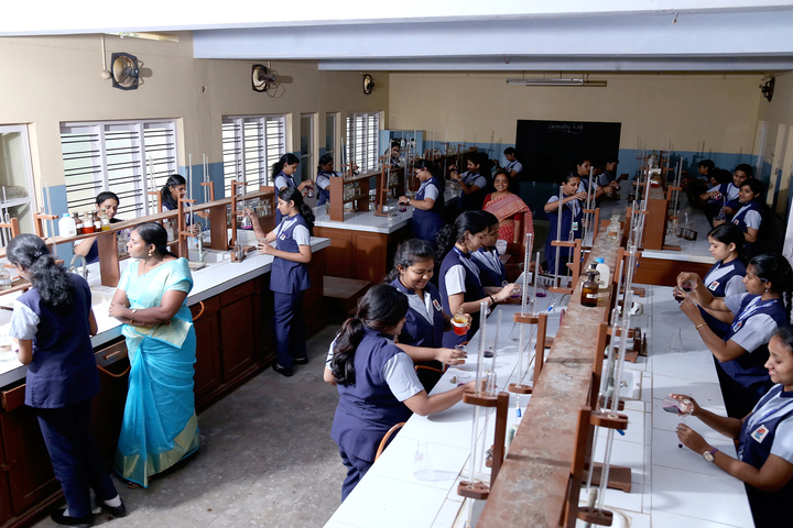 Holy Angels I S C School-Chemistry Lab