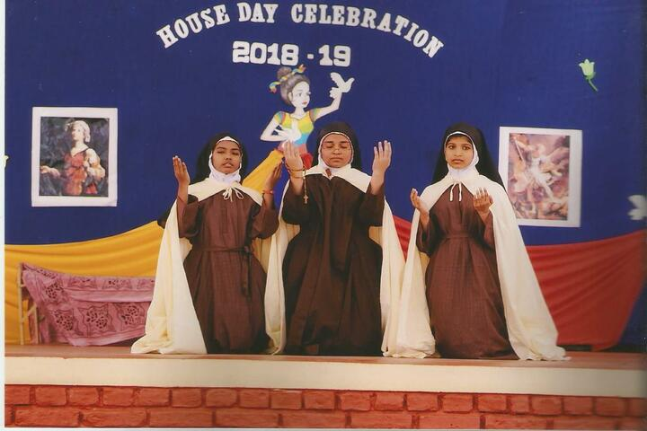 Holy Angels I S C School-House Day Celebrations