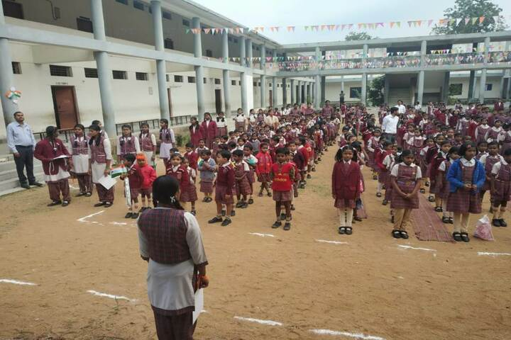 DAV Mukhyamantri Public School-Assembly