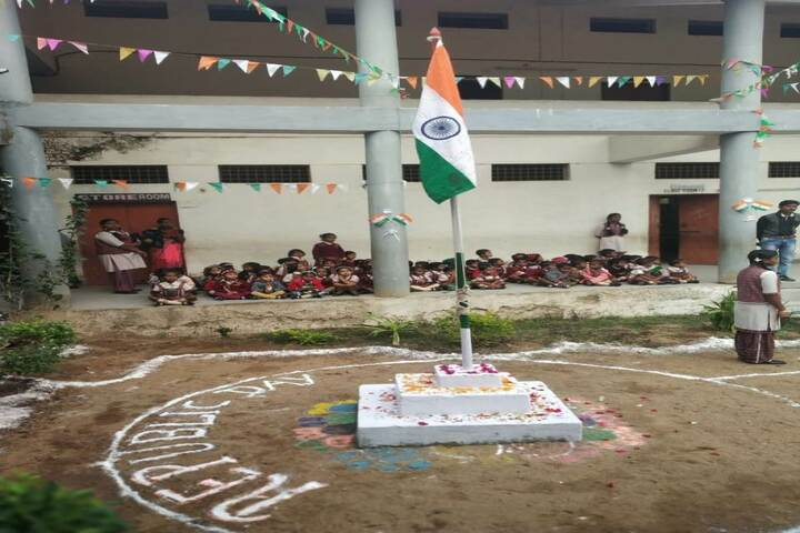 DAV Mukhyamantri Public School-Flag