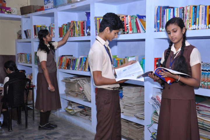 Evershine Residential School-Library