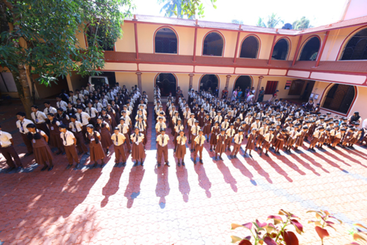 Evershine Residential School-Morning Assembly