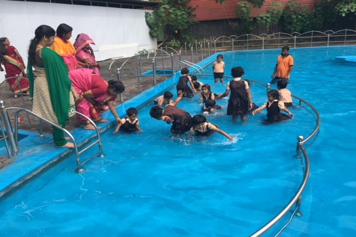 Evershine Residential School-Swimming Pool