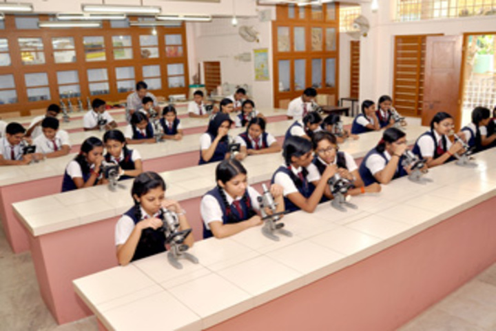 Christ Nagar English Higher Secondary School-Biology Lab