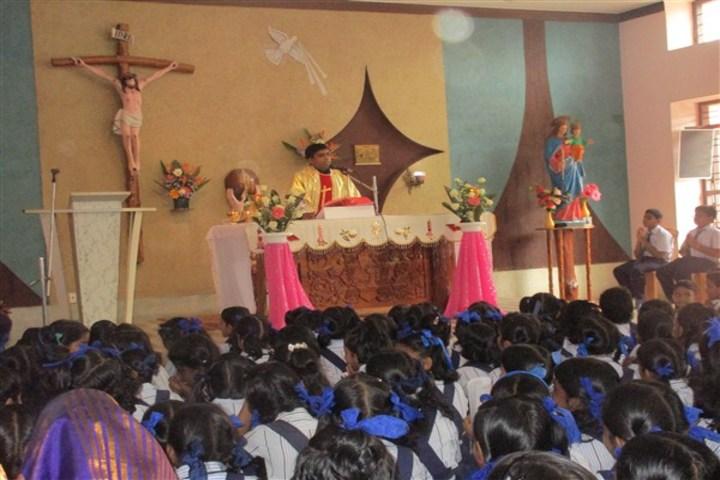 Auxilium English Medium School-Christmas Celebrations