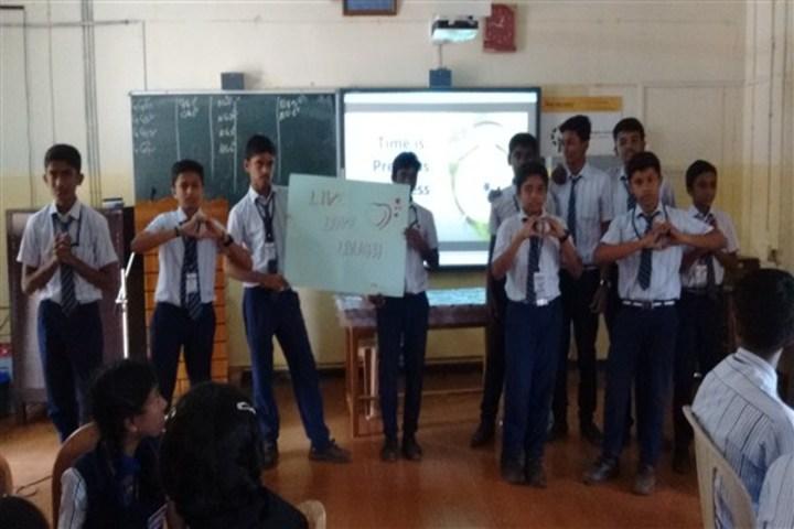 Auxilium English Medium School-Classroom Activity