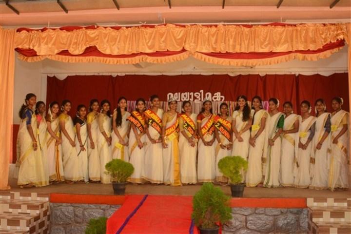 Auxilium English Medium School-Festival Celebrations