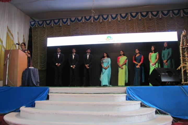 Sri Adwayananda Public School-Graduation Day