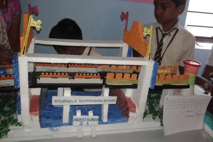 Bishop Moore Vidyapith-School Exhibition