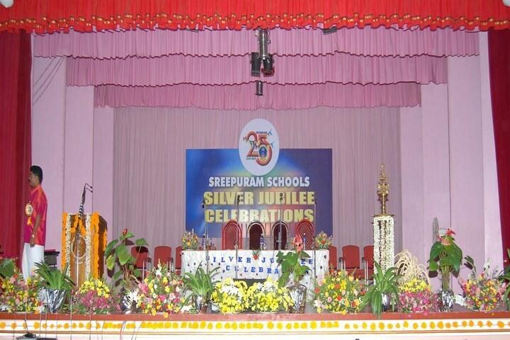 Sreepuram English Medium High School And Junior College-Auditorium