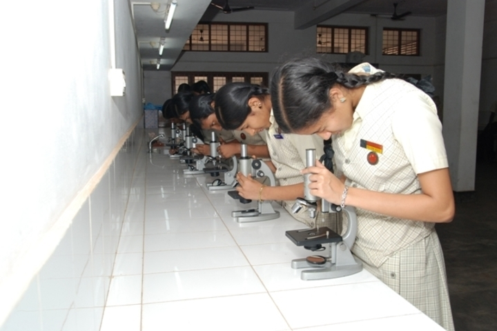 Sreepuram English Medium High School And Junior College-Biology Lab