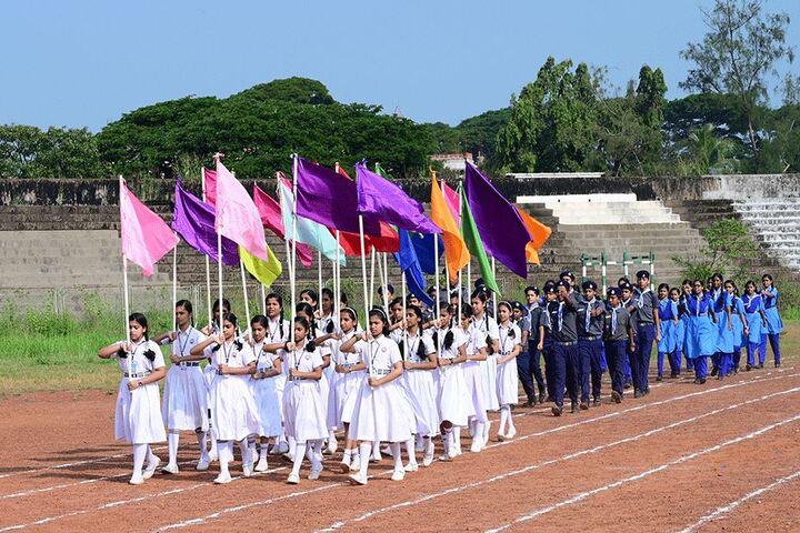 Sreepuram English Medium High School And Junior College-March Past