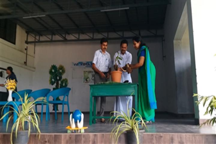 Vidya Vikas School-Environment Day