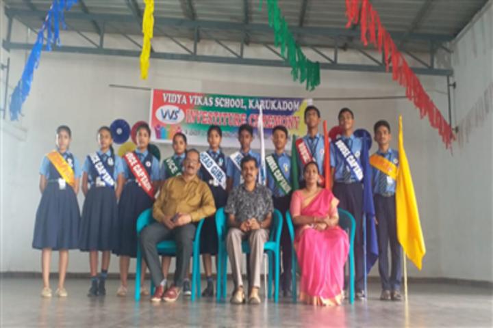Vidya Vikas School-Investiture Ceremony