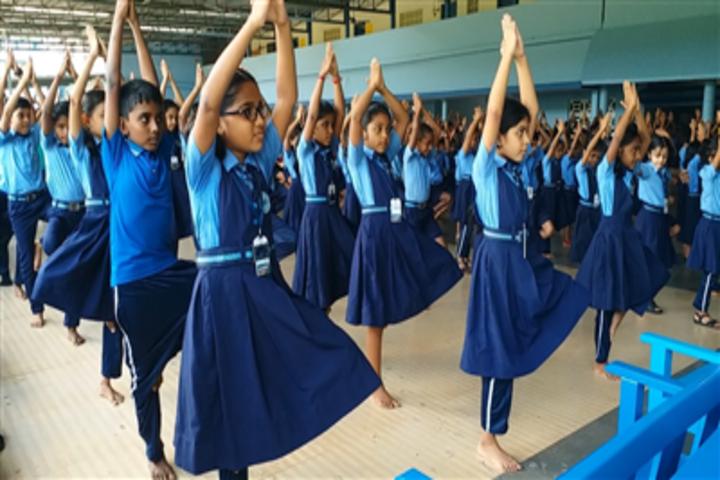 Vidya Vikas School-Yoga Day