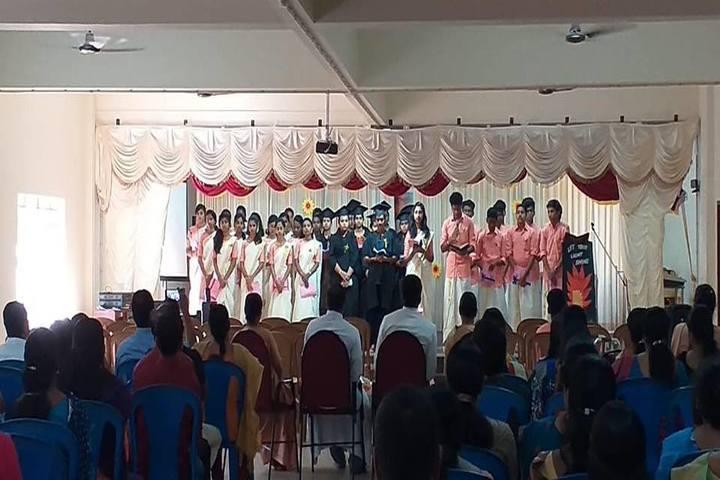 St Charles Borromeo Convent School-Graduation Day