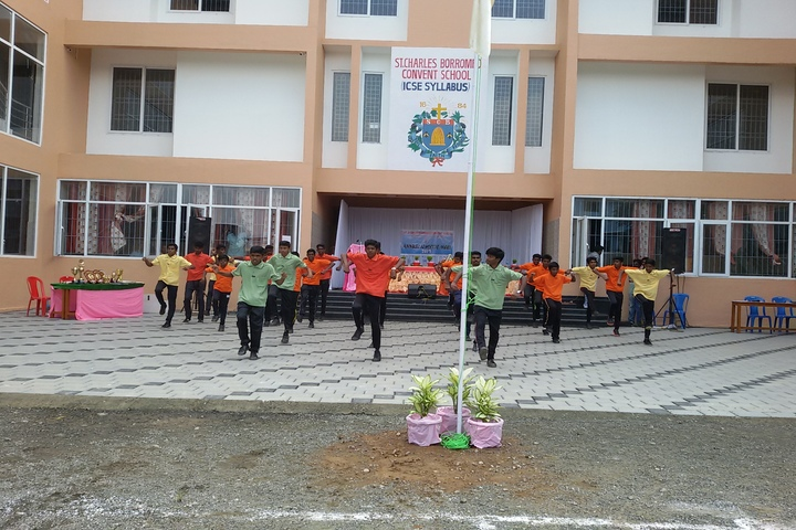 St Charles Borromeo Convent School-Independence Day