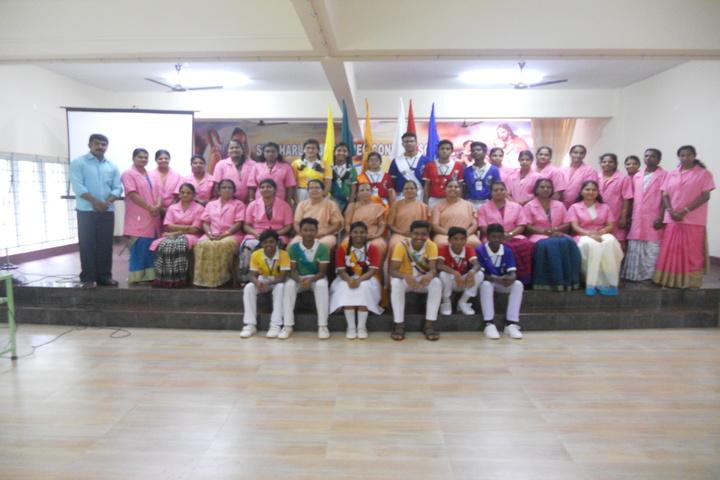 St Charles Borromeo Convent School-Investiture Ceremony