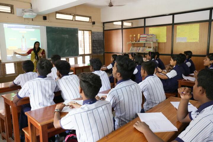 Auxilium English Medium School-Classroom