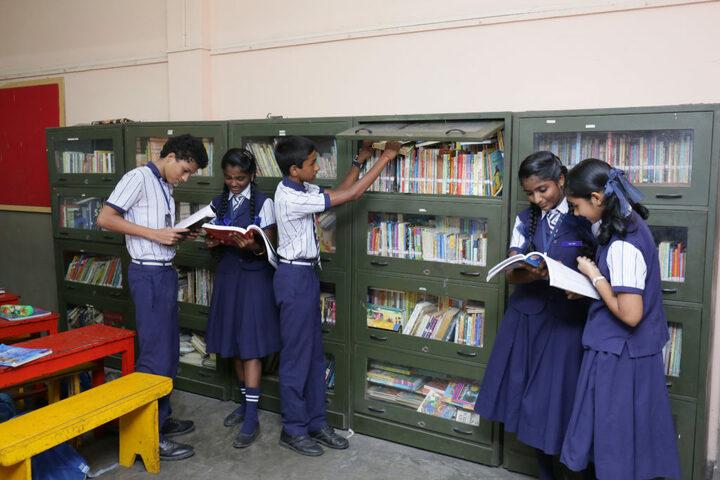 Auxilium English Medium School-Library
