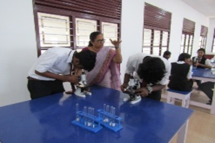 Sacred Heart Higher Secondary School & CISCE Junior College-Biology Lab