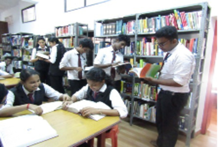Sacred Heart Higher Secondary School & CISCE Junior College-Library