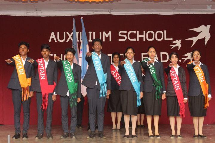 Auxilium School-Investiture Ceremony
