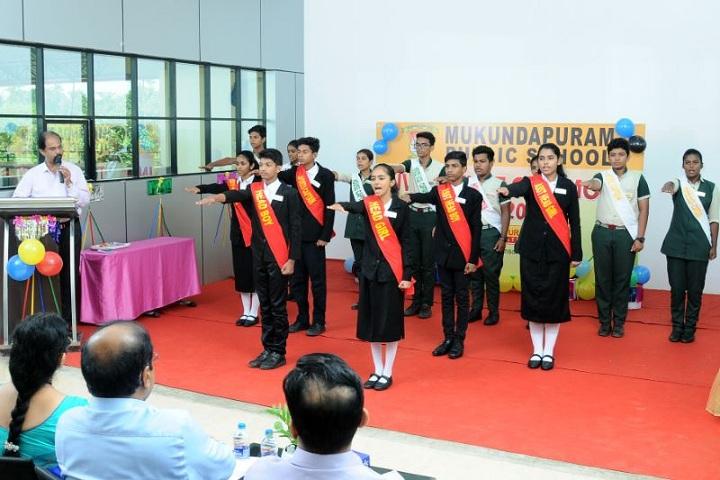 Mukundapuram Public School-Investiture Ceremony