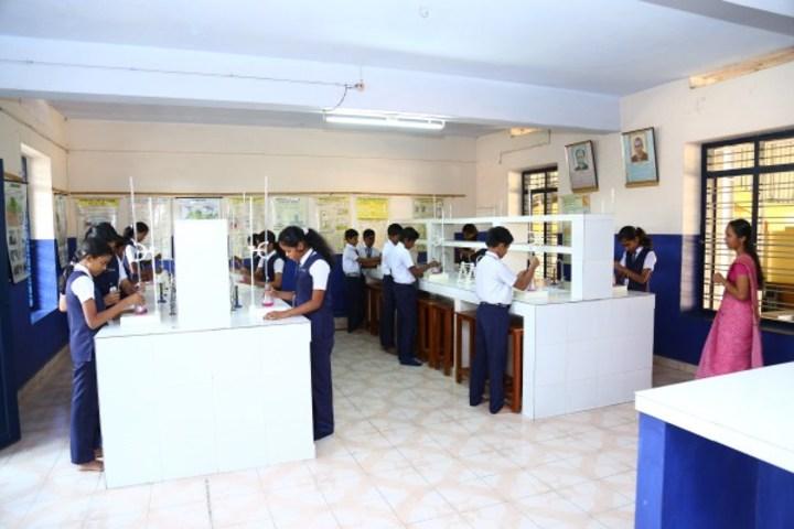 Vimala Central School-Chemistry Lab