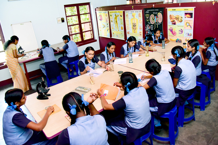 Rani Matha Public School-Biology Lab