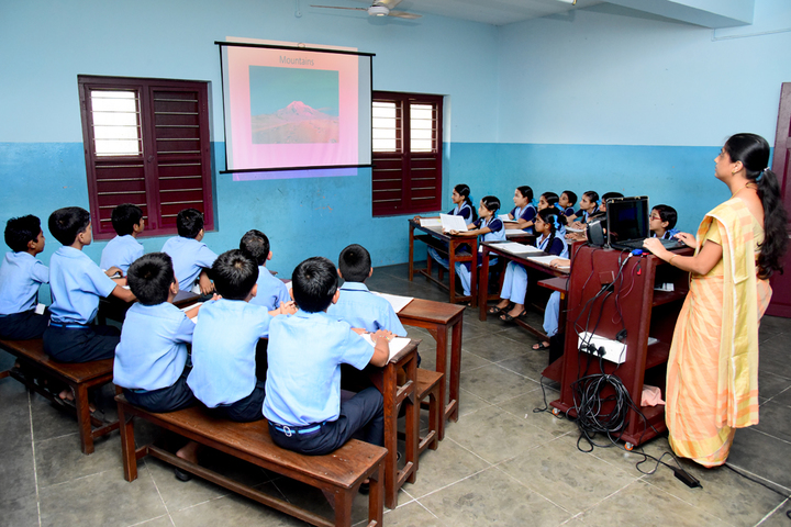Rani Matha Public School-Classroom