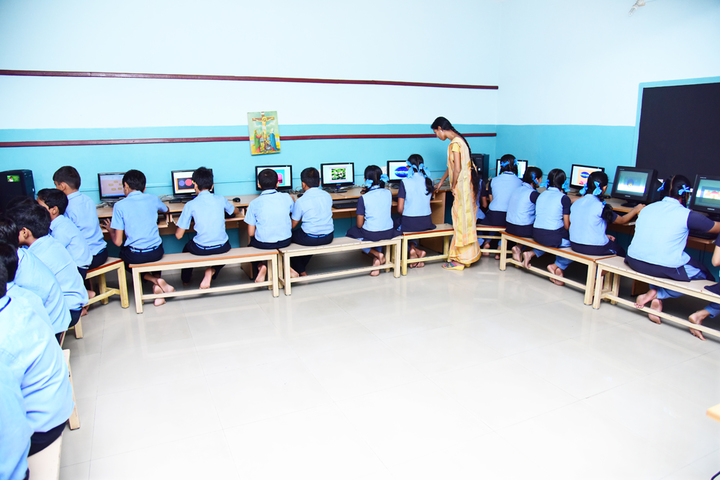 Rani Matha Public School-Computer Lab