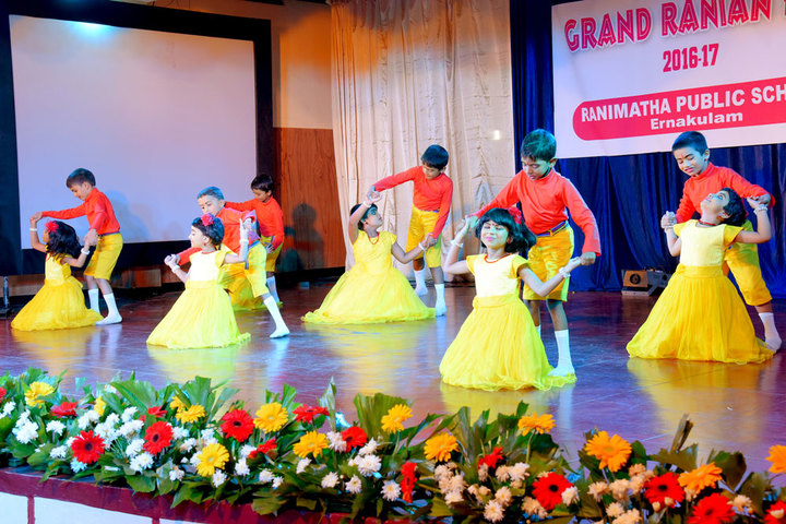 Rani Matha Public School-Kids Dance