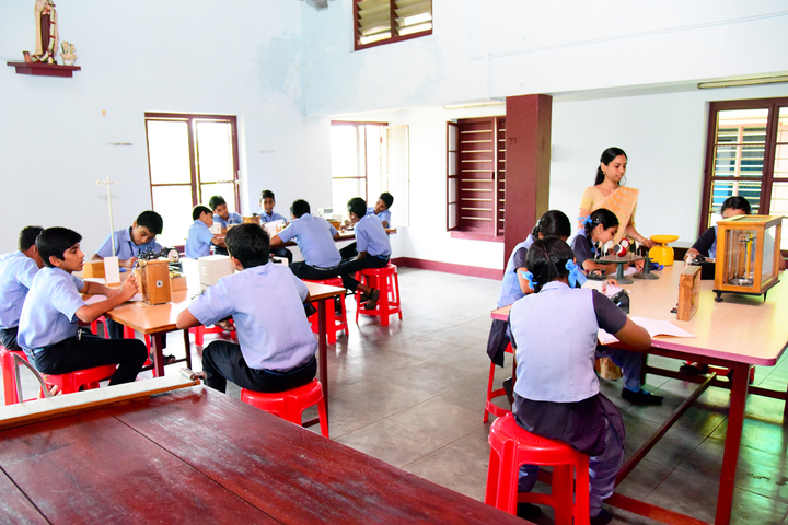 Rani Matha Public School-Physics Lab