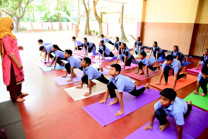 Rani Matha Public School-Yoga
