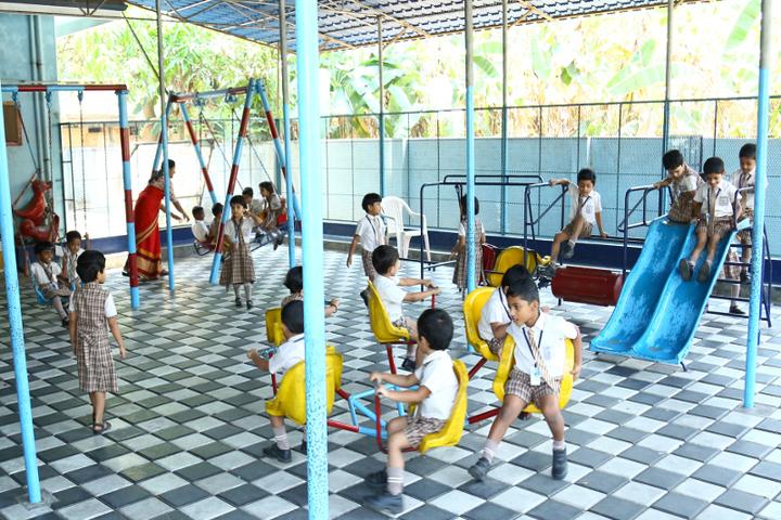 Jnanodaya Central School-Kids Play Area