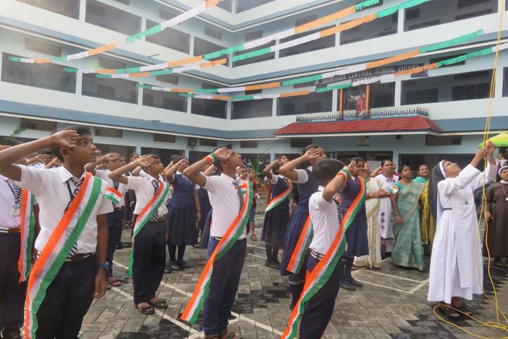 Jnanodaya Central School-Independence Day