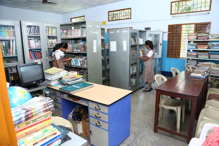 Jnanodaya Central School-Library