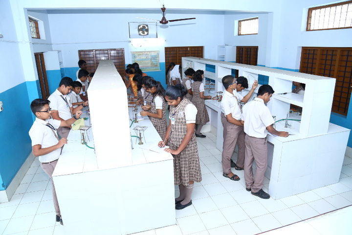 Jnanodaya Central School-Chemistry Lab