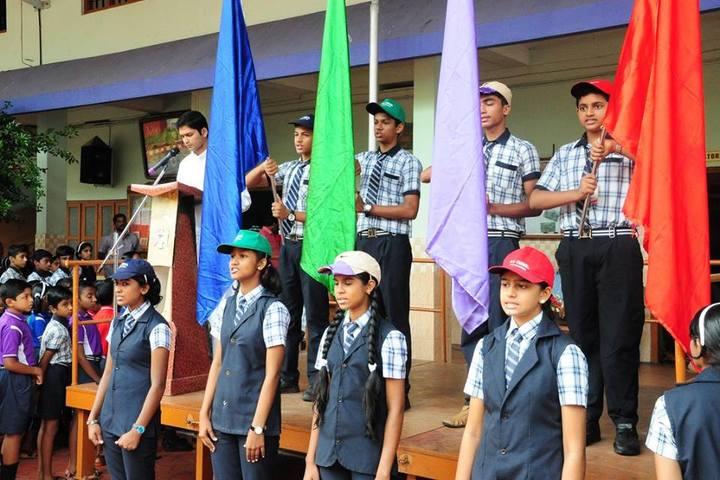 K E Carmel School-Investiture Ceremony